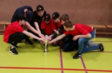 Die Baseball Junioren der Buccaneers vom VfL Bückeburg nach dem 4. Platz